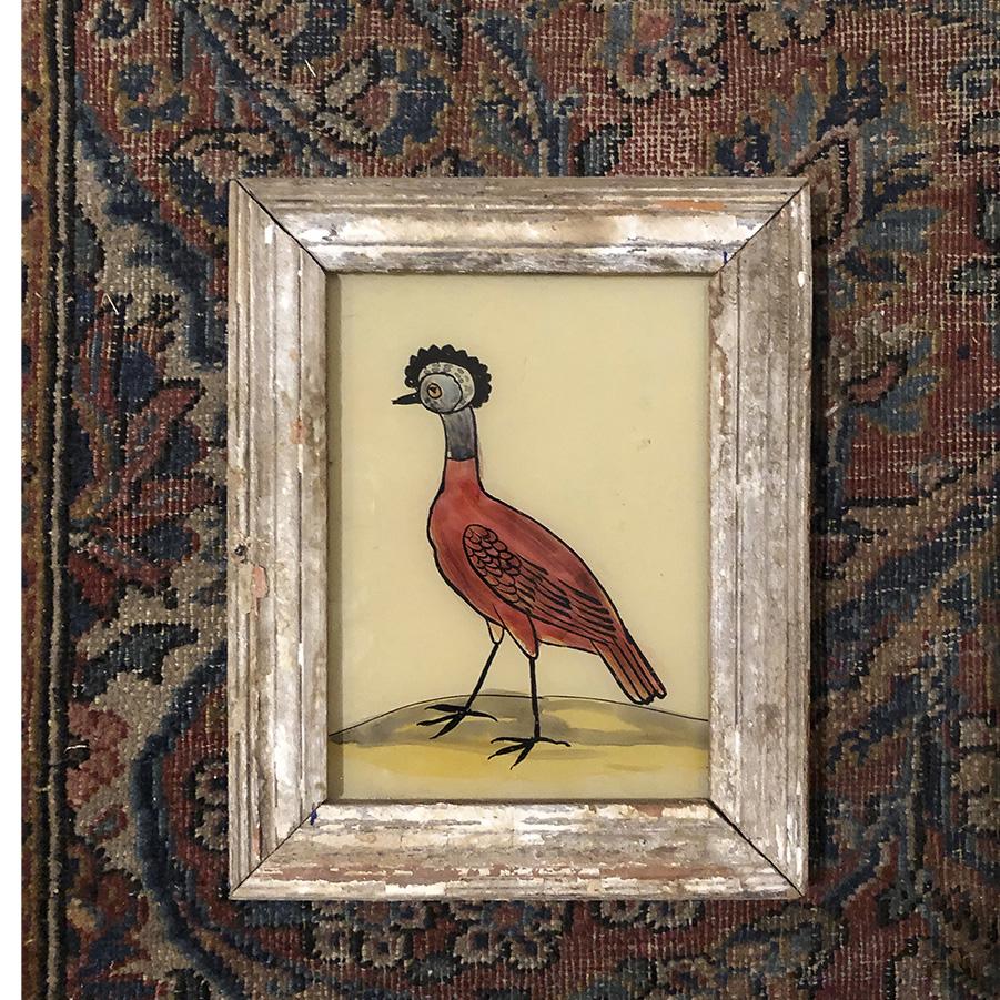 Strange Bird Distressed Frame-S