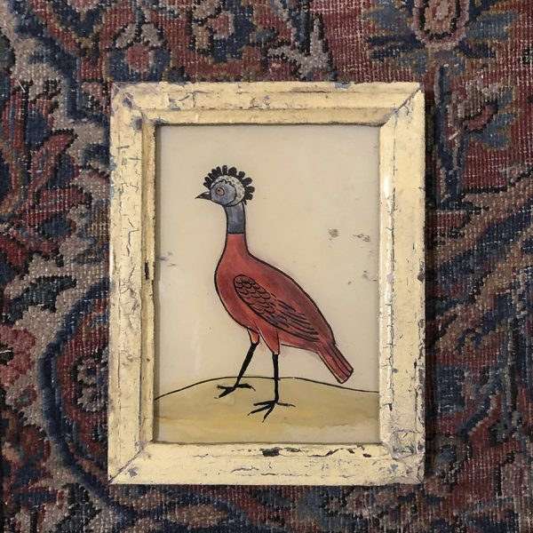 Strange Bird Cream Frame-S