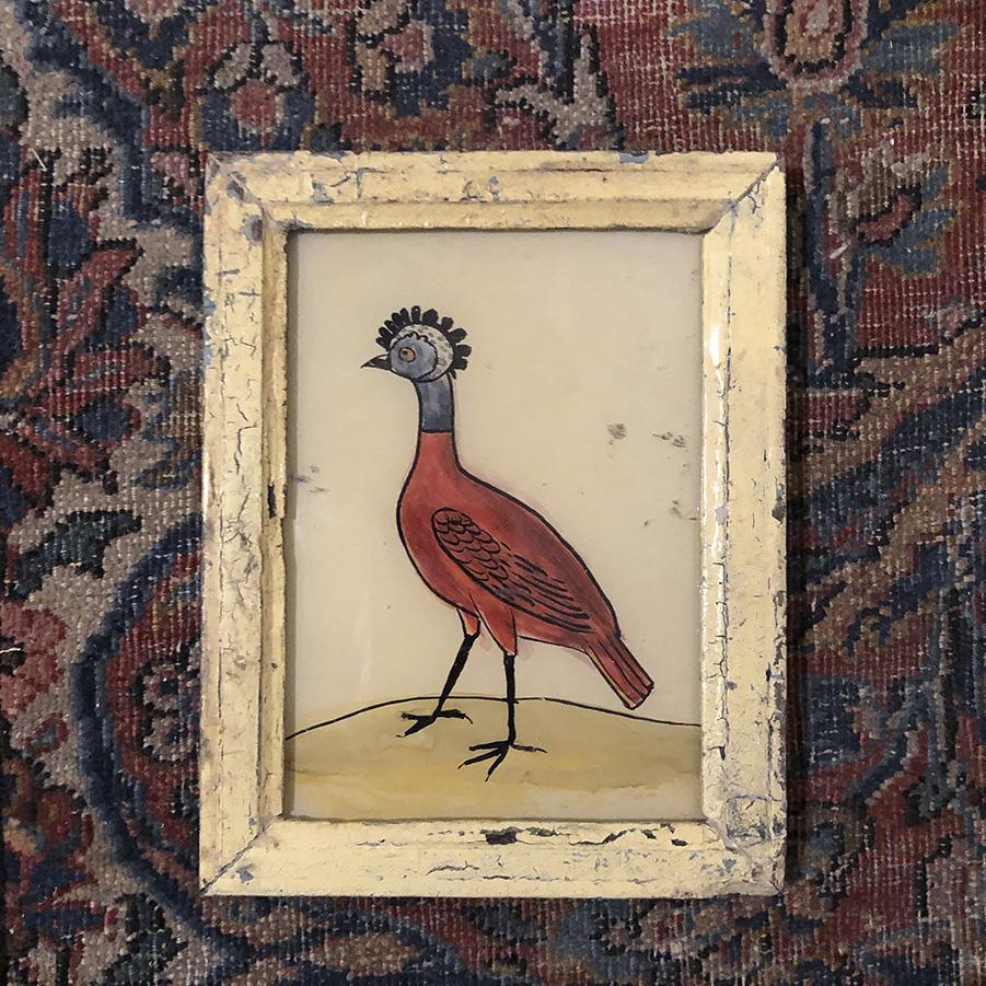 Strange Bird Cream Frame-S