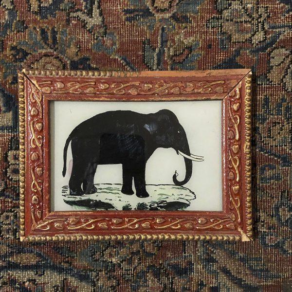 Elephant Red Frame-S