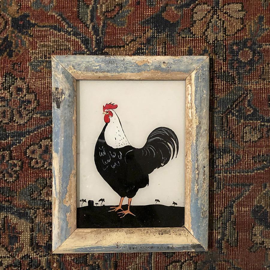 Cockerel Distressed Frame-S
