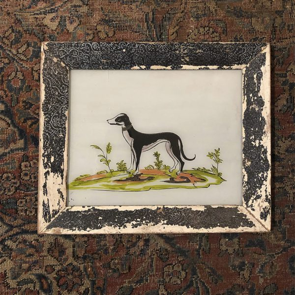 Dog2 Glass Painting